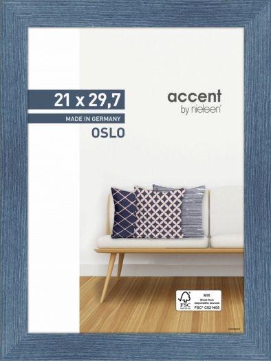 Nielsen Holzrahmen 299294 Oslo 21x29,7cm blau