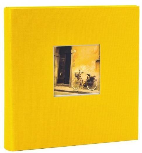 Goldbuch Fotoalbum Bella Vista Gelb 24891 25x25cm