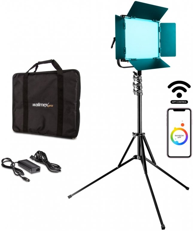 Walimex pro LED Rainbow 50W RGBWW Set 1