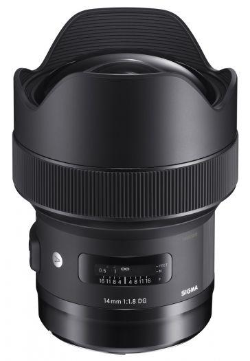 Sigma 14mm f1,8 DG HSM (A) Nikon