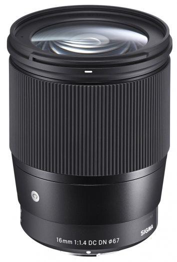Sigma 16 mm f1,4 DC DN [C] für Sony E-Mount
