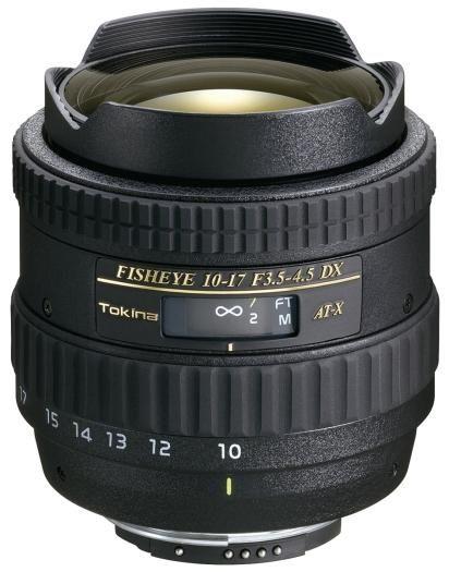 Tokina AT-X 10-17mm 1:3,5-4,5 AF DX Canon