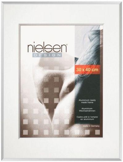 Nielsen Pixel Alurahmen 21x30 silber glänzend