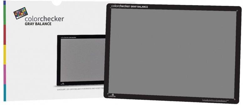 Calibrite ColorChecker Gray Balance