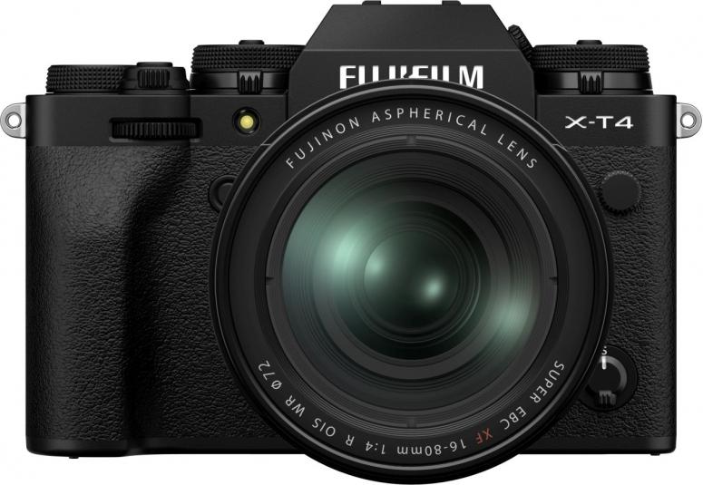 Fujifilm X-T4 schwarz + XF16-80mm f4 schwarz