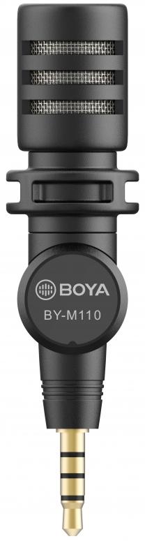 Boya BY-M110 Omni-direktionales Mikrofon 3,5mm TRRS
