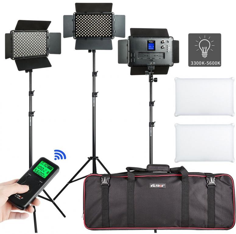Viltrox VL-S192T LED Light Triple Kit