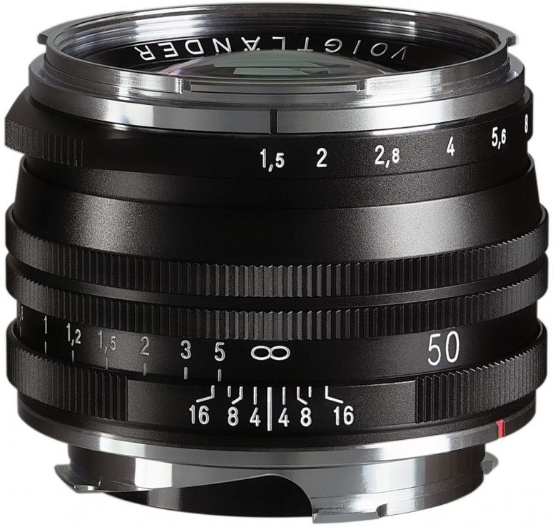 Voigtländer Nokton 50mm f1,5 VM S.C. asphärisch schwarz