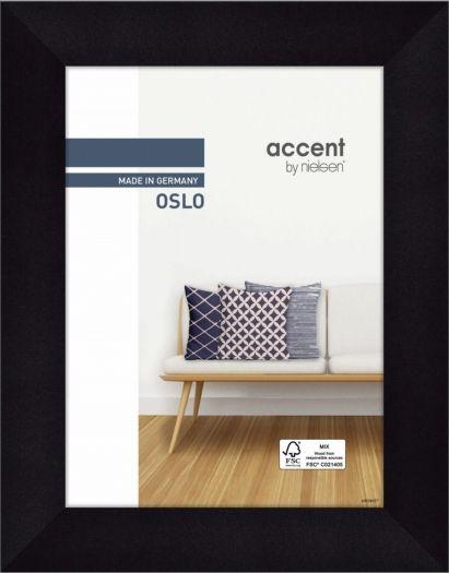 Nielsen Holzrahmen 299300 Oslo 18x24cm schwarz