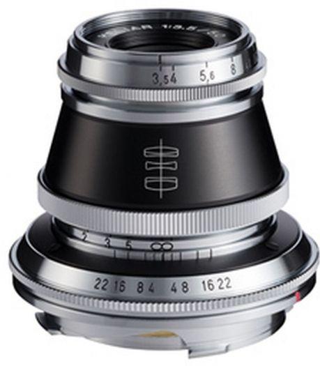 Voigtländer Heliar 50mm f3,5 schwarz-silber VM-Bajonett