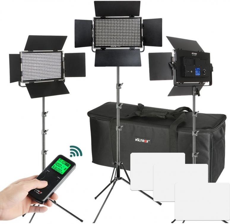 Viltrox VL-S50T LED Light Triple Kit