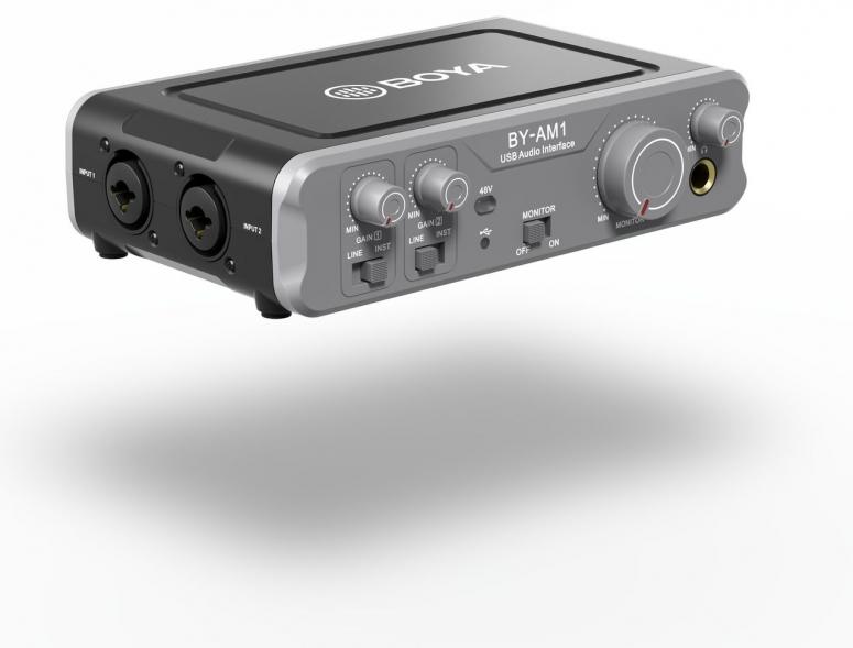 Boya BY-AM1 Audio Mikrofon mixer