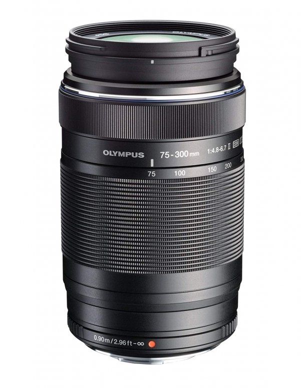 Olympus M.Zuiko Digital 75-300mm 1:4,8-6,7 II Micro FT schwarz