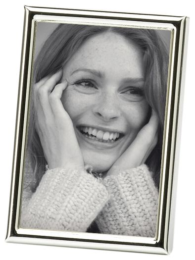 Walther WD069S Chloe Portraitrahmen 6x9 cm silber