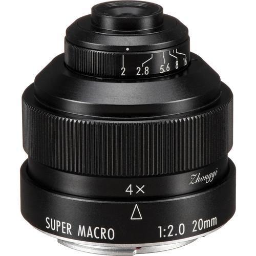 Zhongyi Mitakon Creator 20mm f/2 Canon EF