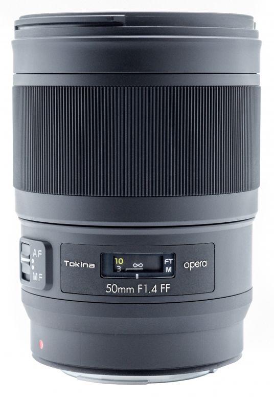 Tokina Opera 50mm F1,4 Canon EF