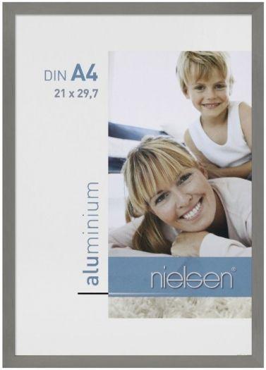 Nielsen Metallrahmen C2 21x30 cm grau 62151