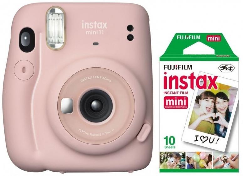 Fujifilm Instax Mini 11 blush pink + Mini Film EP