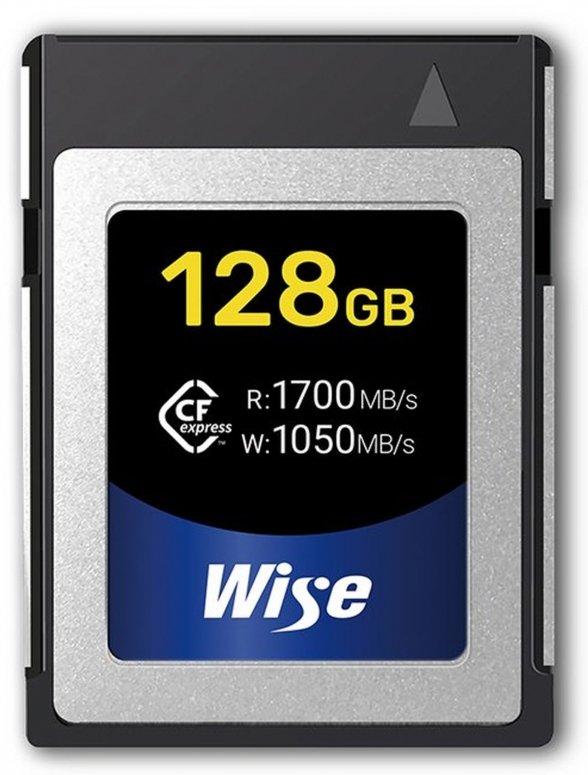 Wise CFexpress 128GB 1700MB/Sek. Speicherkarte