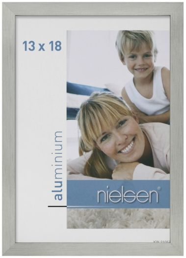 Nielsen Rahmen C2 13x18 cm grau matt 63251