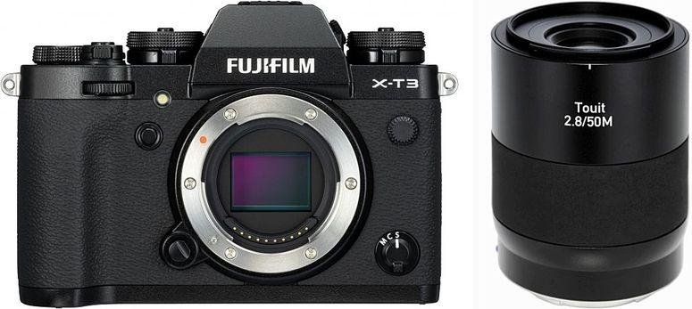 Fujifilm X-T3 schwarz + ZEISS Touit 50mm f2,8