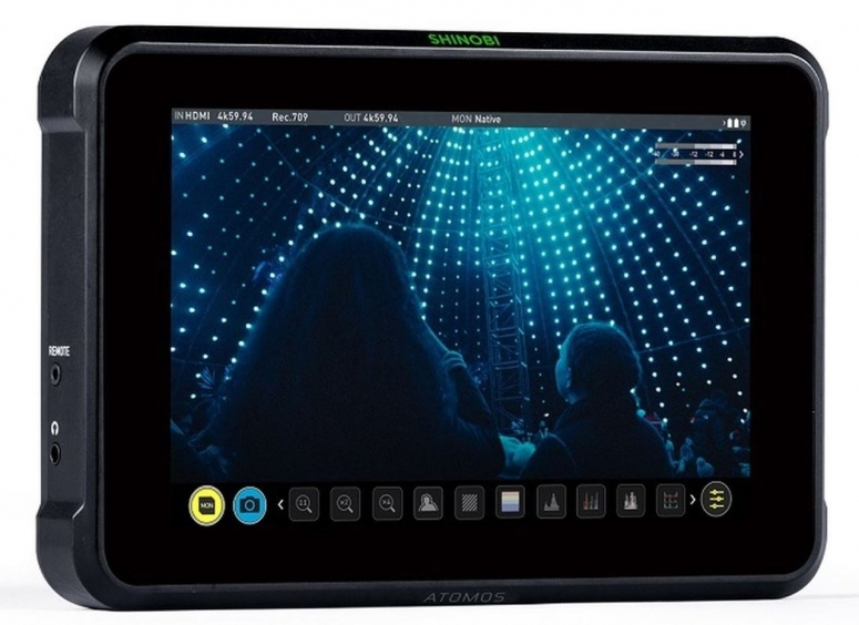 Atomos Shinobi 7 4K HDMI/SDI HDR Monitor