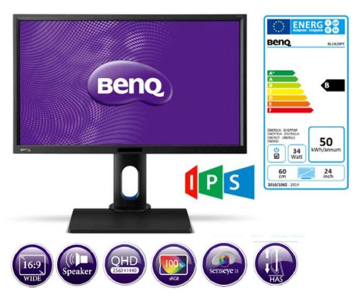 BenQ BL2420PT 24 QHD Designer-Monitor
