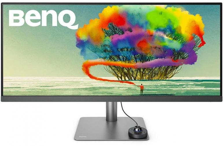 BenQ PD3420Q 34 UWQHD DesignVue Grafik-Monitor grau/schwarz matt 21:9