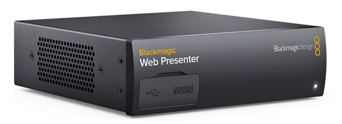 Blackmagic Web Presenter Streaming Gerät