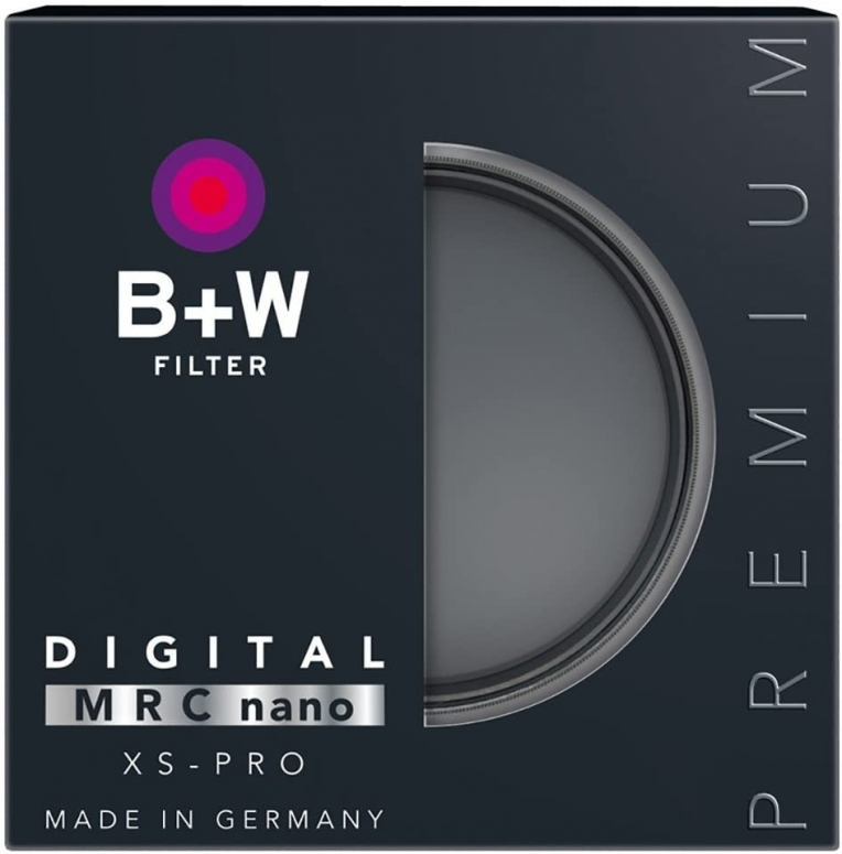 B+W 806 Graufilter ND64 1.8 MRC nano XS PRO Digital 77mm