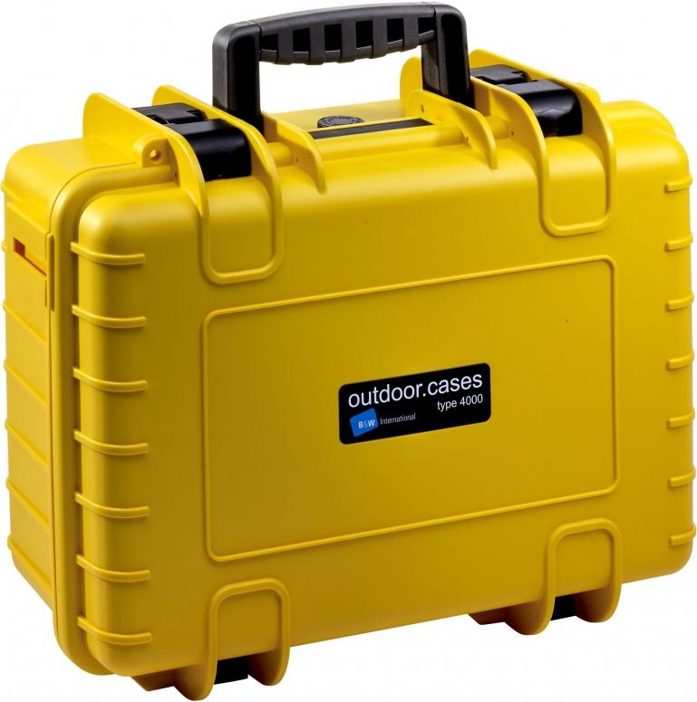B&W Case Type 4000 gelb