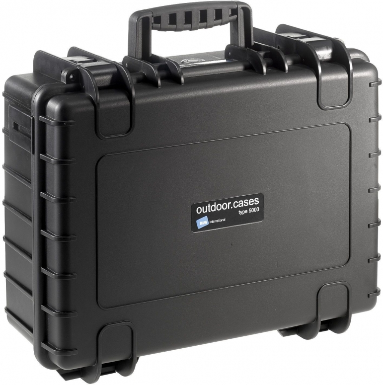 B&W Case Type 5000 schwarz