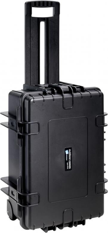 B&W Case Type 6700 RPD schwarz mit Facheinteilung