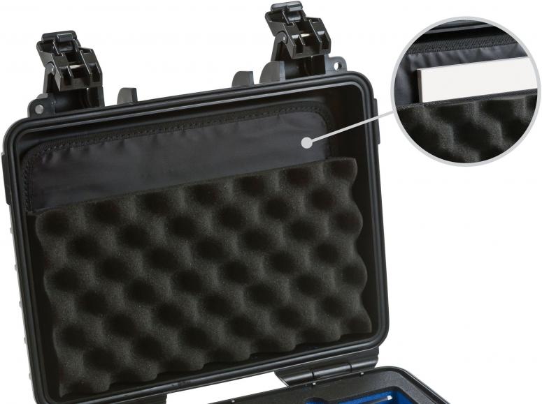 B&W Deckeltasche für Case 4000