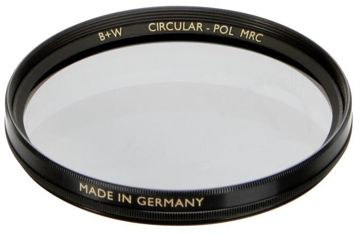 B+W Polfilter cirkular MRC 62 mm