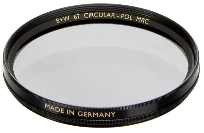 B+W Polfilter cirkular MRC 67 mm