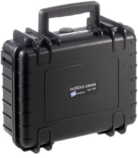 B&W Case Type 1000 RPD schwarz mit Facheinteilung