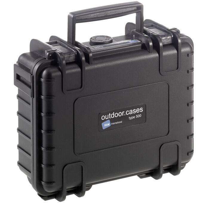 B&W Case Type 500 Schwarz