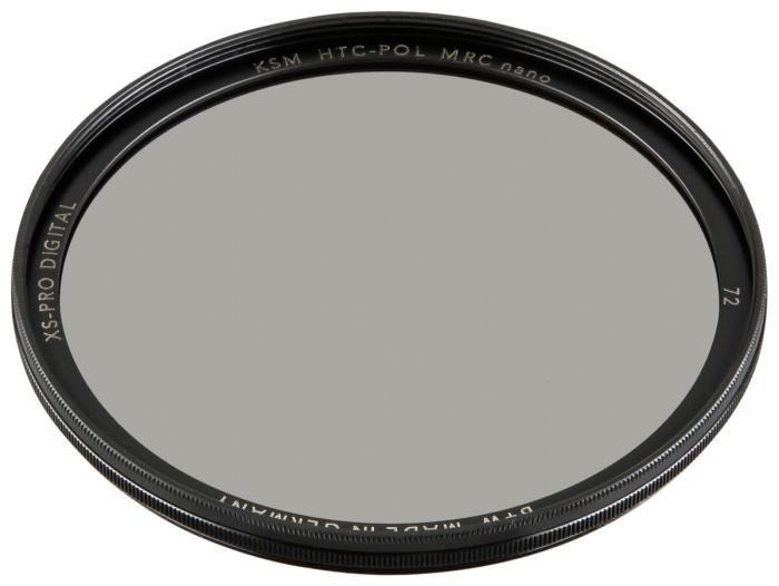 B+W XS-Pro HTC Polfilter KSM MRC nano 72