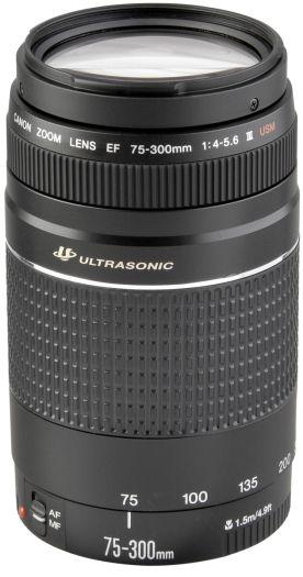 Canon EF 75-300mm 4-5,6 III USM