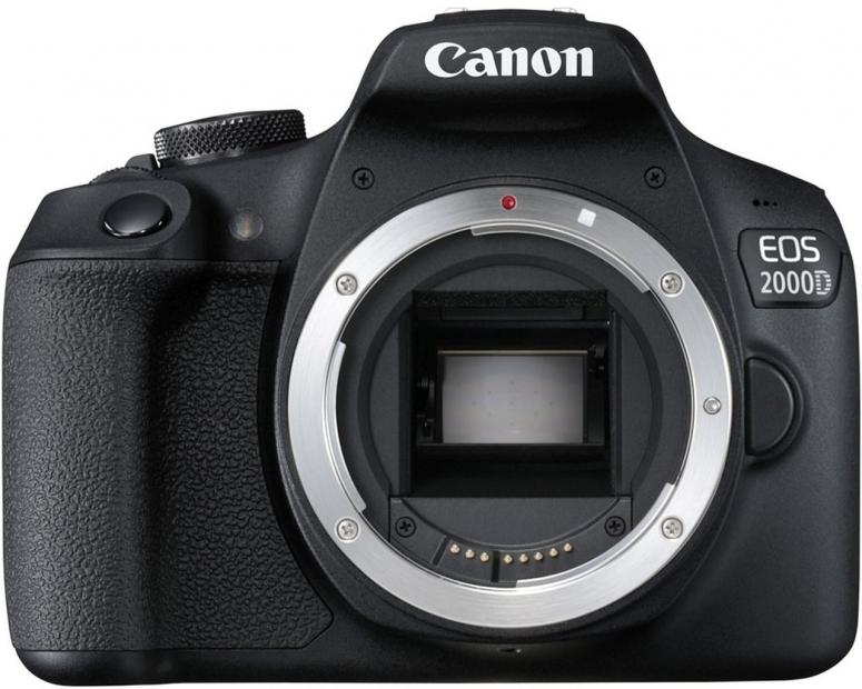Canon EOS 2000D Gehäuse schwarz