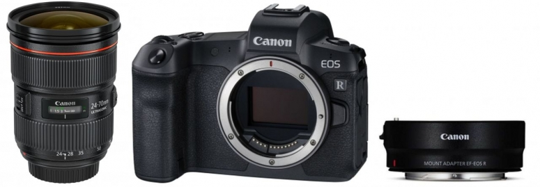 Canon EOS R + Adapter + EF 24-70mm f2.8 L IS USM