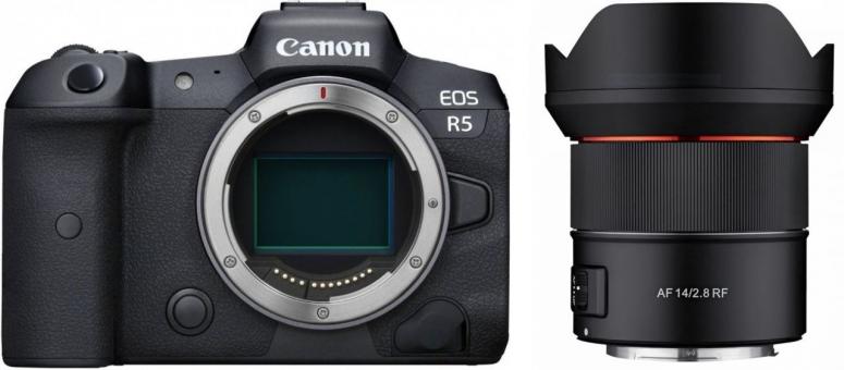 Canon EOS R5 + Samyang AF 14mm F2.8 RF Canon EOS R
