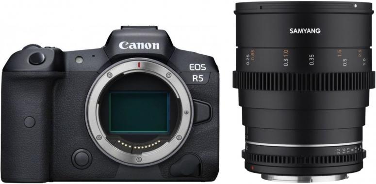 Canon EOS R5 + Samyang MF 24mm T1,5 VDSLR MK2 Canon RF