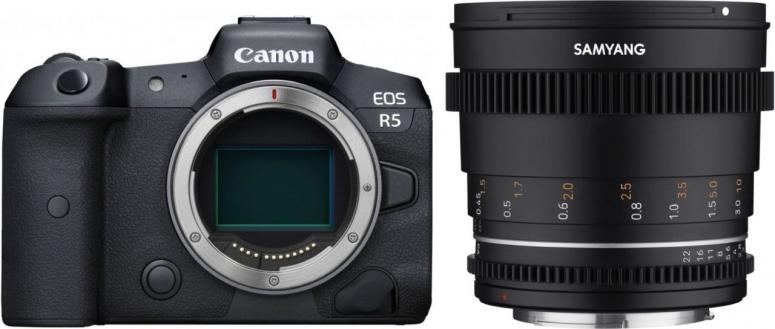 Canon EOS R5 + Samyang MF 50mm T1,5 VDSLR MK2 Canon RF