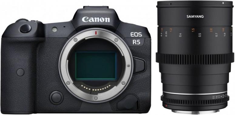Canon EOS R5 + Samyang MF 85mm T1,5 VDSLR MK2 Canon RF