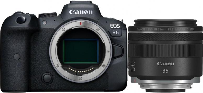Canon EOS R6 + RF 35mm f1.8 IS STM Macro