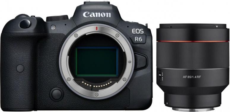 Canon EOS R6 + Samyang AF 85mm f1,4 RF für Canon R