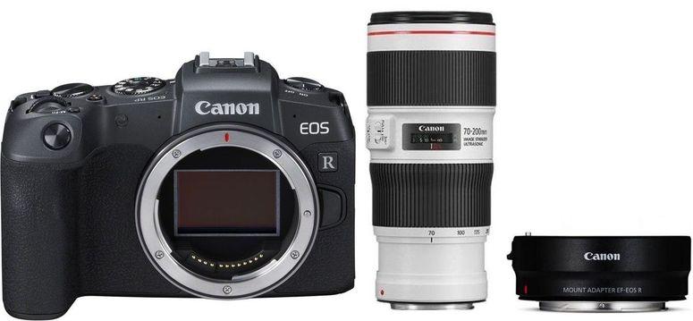 Canon EOS RP + Adapter EF-EOS R + EF 70-200mm f4L IS II USM