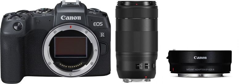 Canon EOS RP + Adapter EF-EOS R + EF 70-300mm f4,0-5,6 IS II USM